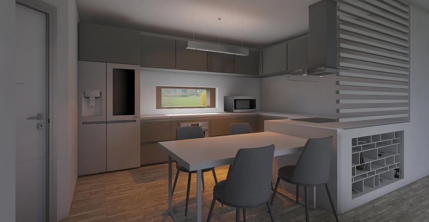 EWI 01.12.2019 aj stol + sikme dvere Interior Design Render
