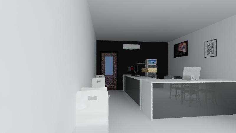 Kafe Gori Interior Design Render