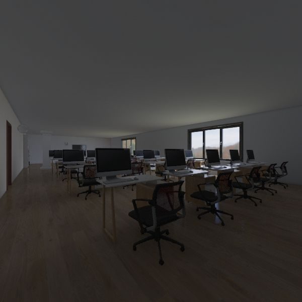 malek lab Interior Design Render