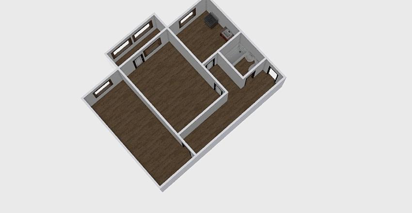 2-комн_0142 Interior Design Render