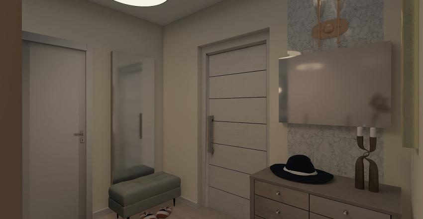 Квартира однокомн 1 вариант Interior Design Render