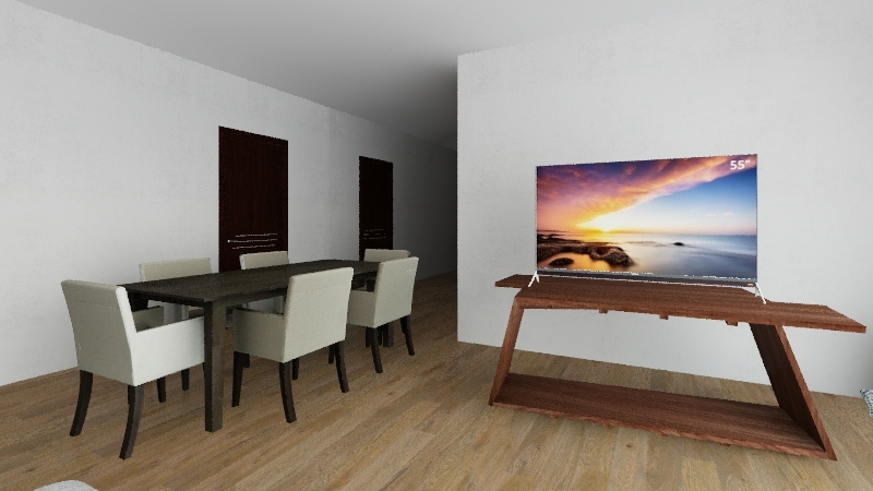 agus casa  Interior Design Render