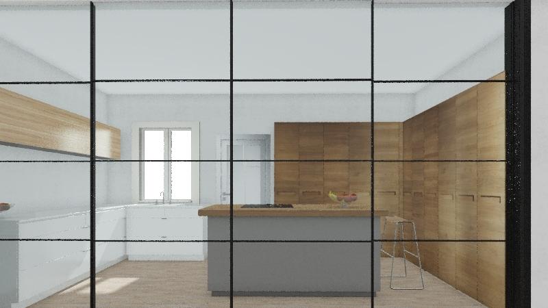 MONTE REAL  OPCION Interior Design Render