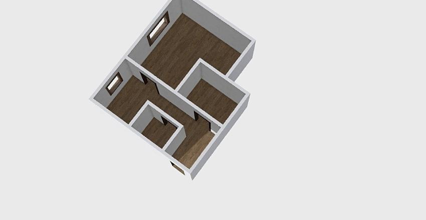 1-комн_0356 Interior Design Render