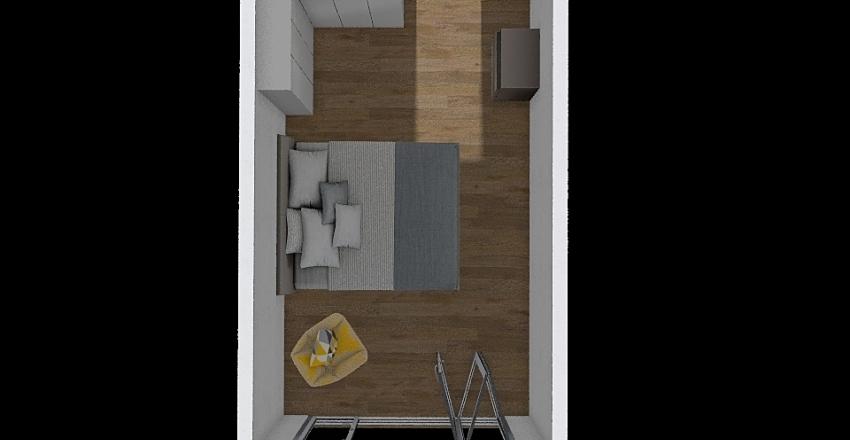 letto 3 ex garage Interior Design Render