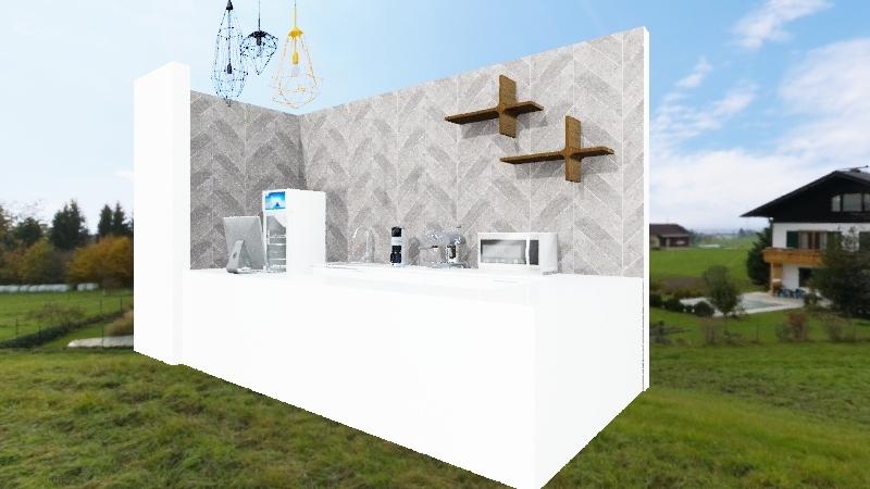 kiosk amp Interior Design Render