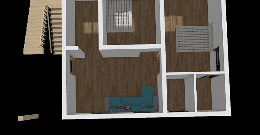 30 x 40 Interior Design Render