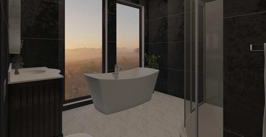 Bachelorette Apt Interior Design Render