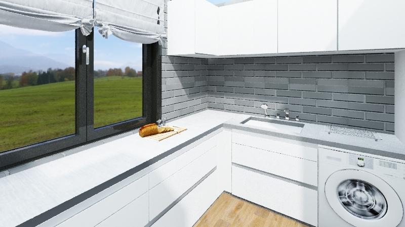 single-family house Interior Design Render