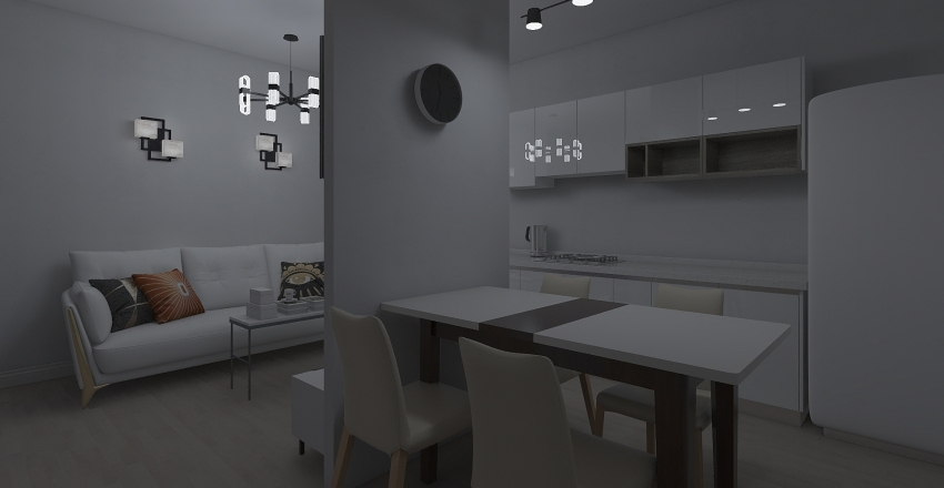CHALUPA BOGA8 Interior Design Render