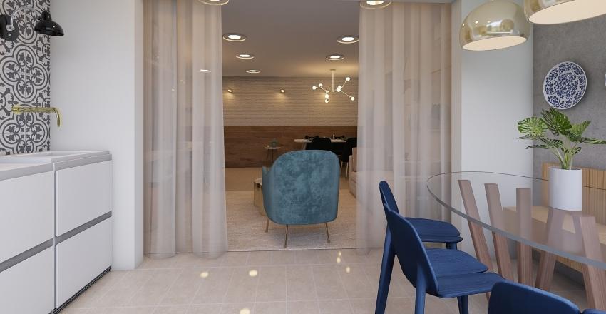 Apto Geovana Interior Design Render