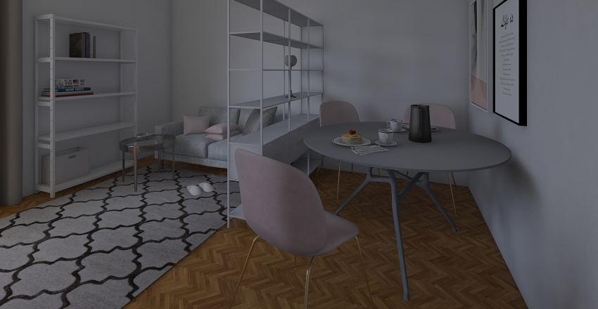 room Interior Design Render