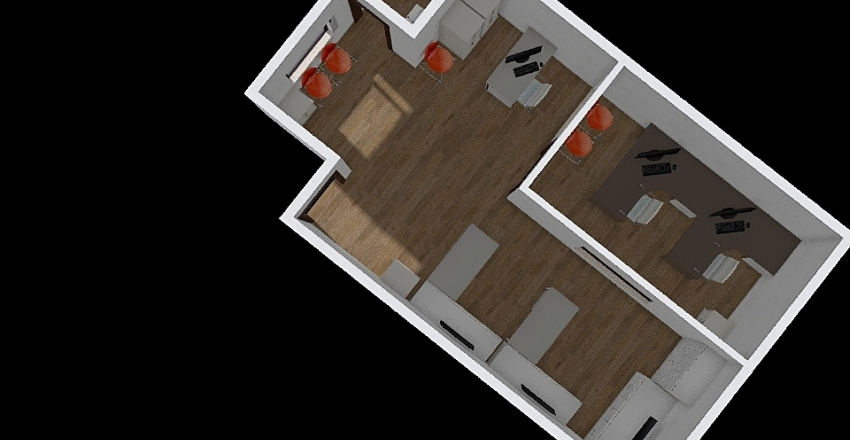 Aspen Inferior Móveis Interior Design Render