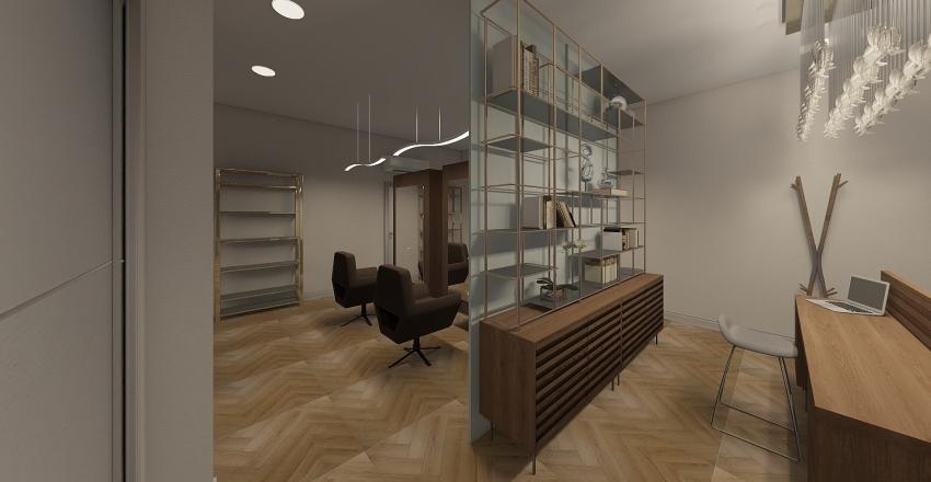 Hair salon 1 Interior Design Render