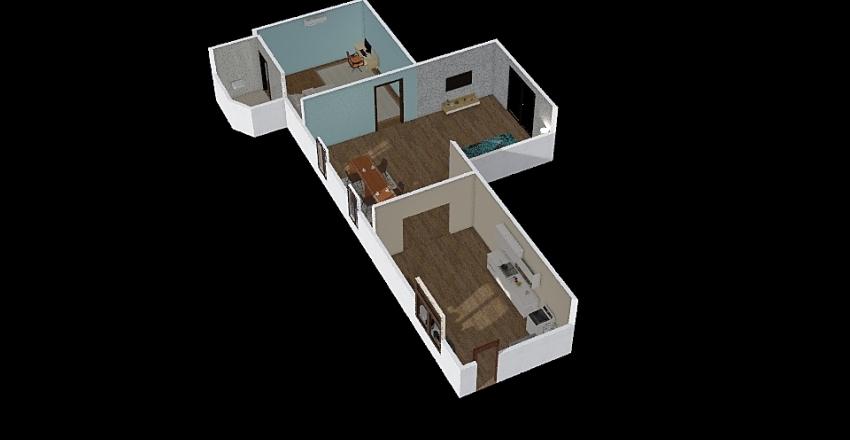 Ban suan Interior Design Render