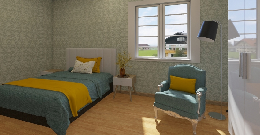 MODELO CASA 1 Interior Design Render