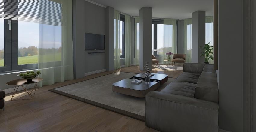 Квартиры №2 Interior Design Render