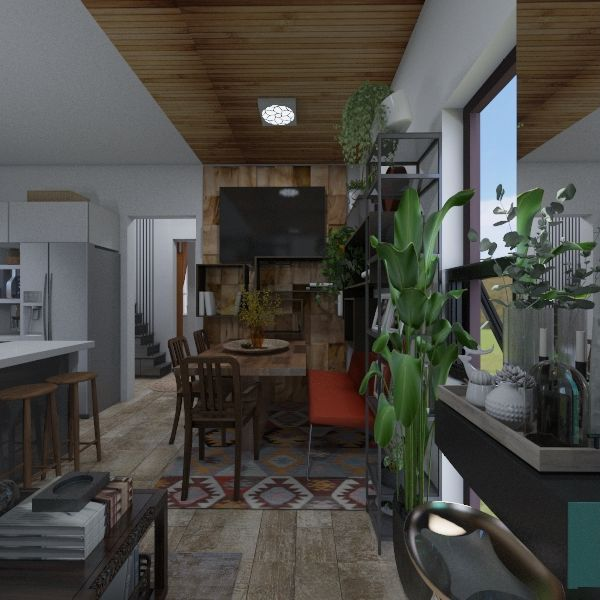 casa Interior Design Render