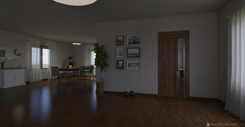 Villa Passiva Interior Design Render
