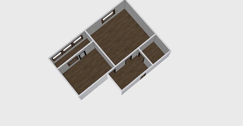 1-комн_0358 Interior Design Render