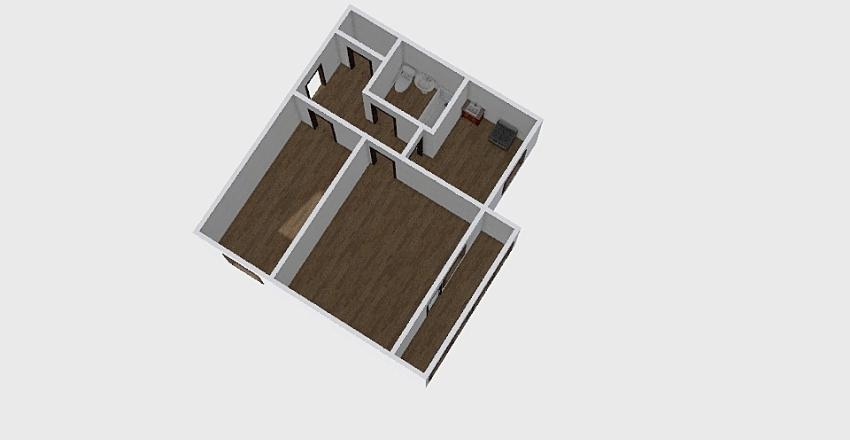 2-комн_0338 Interior Design Render