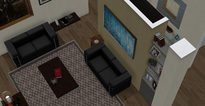 via tresseno 3° progetto F Interior Design Render