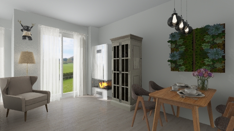 Dopiewiec Interior Design Render