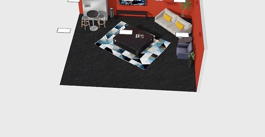 media Interior Design Render
