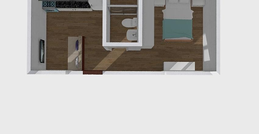 Apartamento Basico Interior Design Render