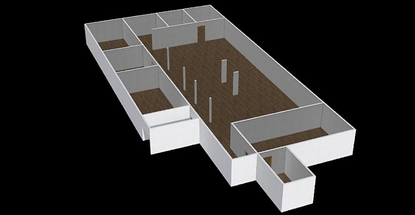 LAb Antigo Interior Design Render