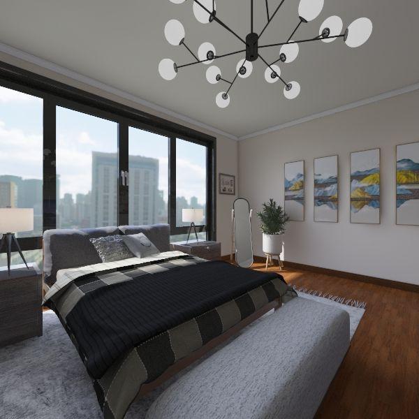 Rustic City Ave Home Interior Design Render