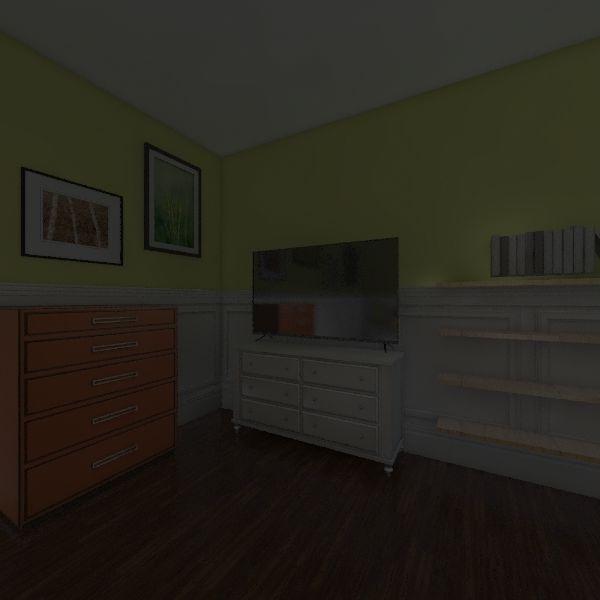 Tropical/Jungle Interior Design Render