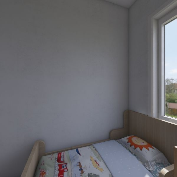 worker house Interior Design Render