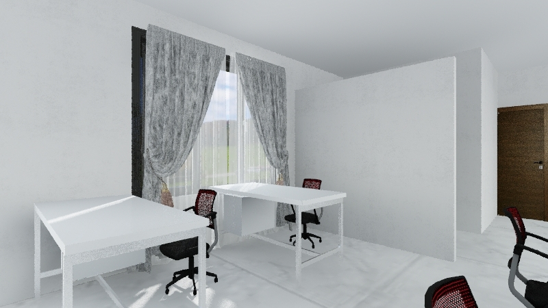 Staff Room 3 Interior Design Render