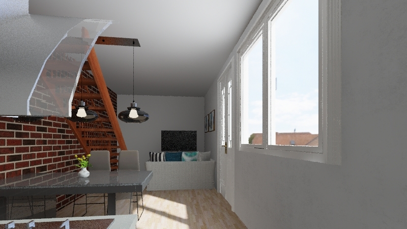 SOLEDAD HOUSE Interior Design Render