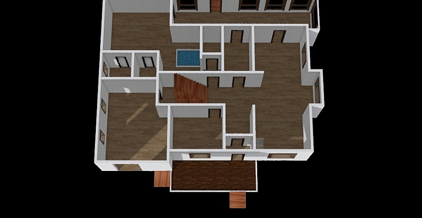 Дома_0336 Interior Design Render
