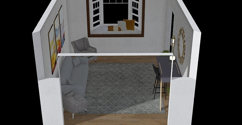 Final project lilly huss Interior Design Render