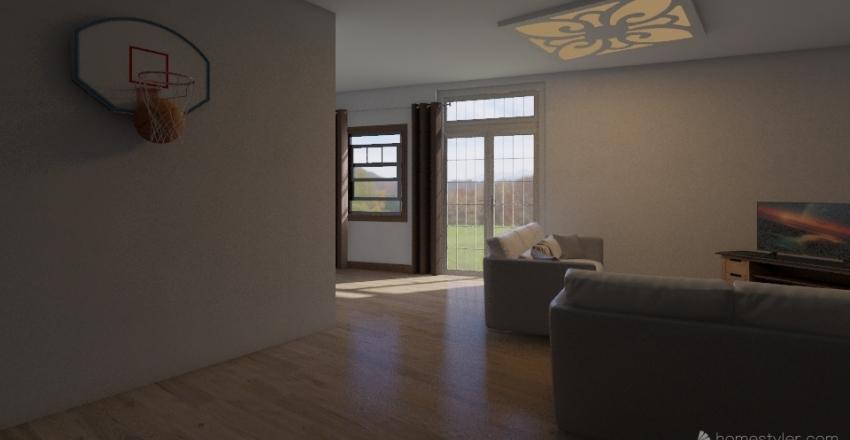 Dawson's House Interior Design Render