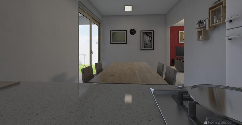 design rumah mba atha Interior Design Render