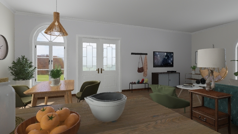 Design 2 DS104 Interior Design Render