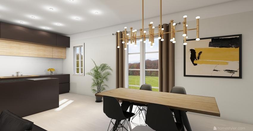 palazzina stefano Interior Design Render