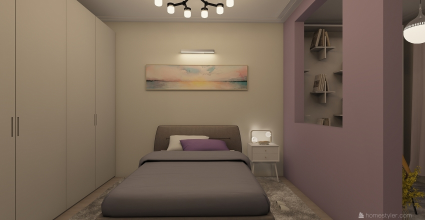 BEDROOM (3) Interior Design Render