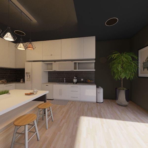Hous  Interior Design Render
