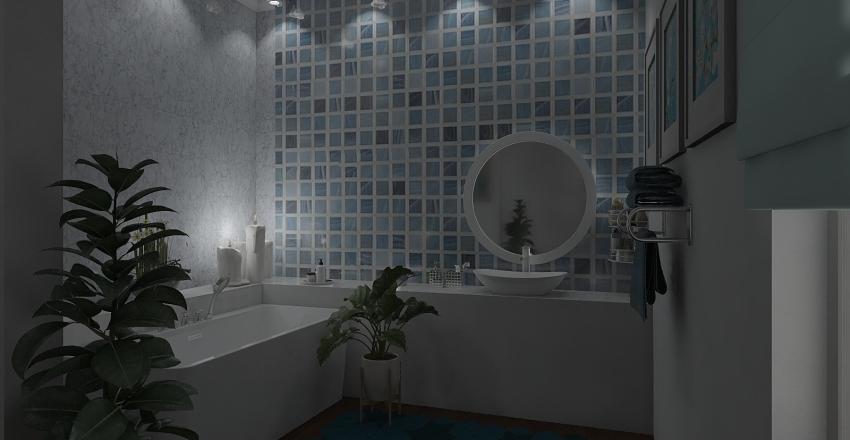 Greek Home for Love Interior Design Render