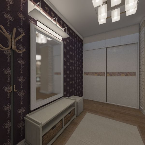 план квартиры 1 копия Interior Design Render