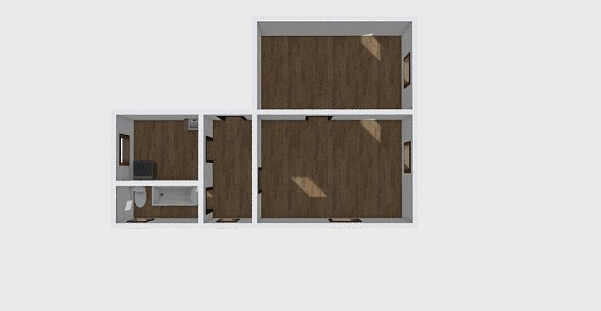2-комн_0339 Interior Design Render