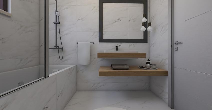 CALACATA BATHROOM Interior Design Render
