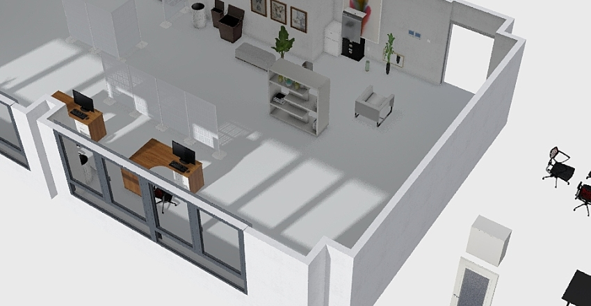 office2 Interior Design Render