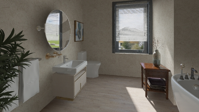 Ava's Holiday House Interior Design Render