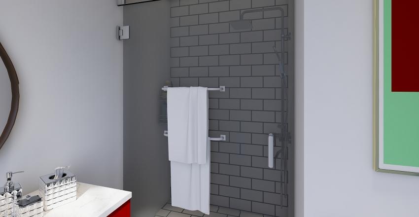 Apartment Floor Interior Design Render